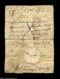 Colonial Notes:North Carolina, North Carolina November 27, 1729 L5 Very Fine Counterfeit. ...