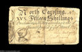 Colonial Notes:North Carolina, North Carolina March 9, 1754 15s Fine. Contemporarily ...