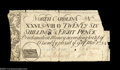 Colonial Notes:North Carolina, North Carolina March 9, 1754 26s8d Very Fine. There are a ...