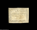 North Carolina April 23, 1761 L3 Very Fine. An unusually well margined example of a note that had a printing of only one...