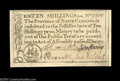 Colonial Notes:North Carolina, North Carolina December 1771 10s Superb Gem New. Very well ...
