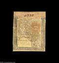 Colonial Notes:Pennsylvania, Pennsylvania March 20, 1771 15s Extremely Fine. A problem-...