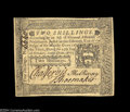 Colonial Notes:Pennsylvania, Pennsylvania October 25, 1775 2s Gem New. A beautifully ...