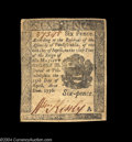 Colonial Notes:Pennsylvania, Pennsylvania April 25, 1776 6d New. A nice example of a ...