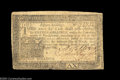 Colonial Notes:Pennsylvania, Pennsylvania March 16, 1785 3d Very Fine. A nice, problem-...