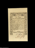 Colonial Notes:Rhode Island, Rhode Island May 1786 6d Superb Gem New. An essentially ...