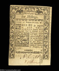 Colonial Notes:Rhode Island, Rhode Island May 1786 6s New. A bit aged, and with typical ...