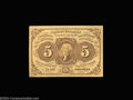Fractional Currency:First Issue, Fr. 1230 5c First Issue Superb Gem New. Huge face margins, ...