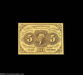 Fractional Currency:First Issue, Fr. 1230 5c First Issue Superb Gem New. An absolutely ...