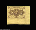 Fractional Currency:First Issue, Fr. 1230 5c First Issue Choice About New. A bright note ...