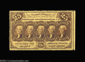Fractional Currency:First Issue, Fr. 1279 25c First Issue Gem New. A gorgeous perforated ...