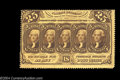 Fractional Currency:First Issue, Fr. 1279 25c First Issue Choice New. Fully perforated and ...