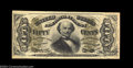 Fractional Currency:Third Issue, Fr. 1324 50c Third Issue Spinner Choice New. Good paper ...