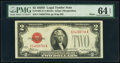 Small Size:Legal Tender Notes, Fr. 1505 $2 1928D Mule Legal Tender Note. PMG Choice Uncir...