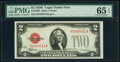 Small Size:Legal Tender Notes, Fr. 1506 $2 1928E Legal Tender Note. PMG Gem Uncirculated 65 EPQ.. ...