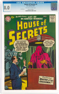 Silver Age (1956-1969):Horror, House of Secrets #4 (DC, 1957) CGC VF 8.0 Off-white to white pages....