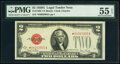 Small Size:Legal Tender Notes, Fr. 1508* $2 1928G Legal Tender Star Note. PMG About Uncirculated 55 EPQ.. ...