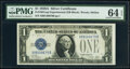 Small Size:Silver Certificates, Fr. 1601 $1 1928A Silver Certificate. X-B Experimental. PM...