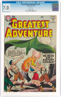 My Greatest Adventure #27 (DC, 1959) CGC FN/VF 7.0 White pages