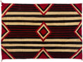 American Indian Art:Weavings, A Navajo Third Phase Chief's Style Rug...