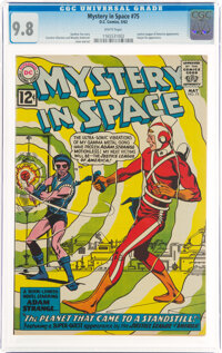 Mystery in Space #75 (DC, 1962) CGC NM/MT 9.8 White pages