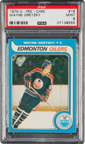Hockey Cards:Singles (1970-Now), 1979 O-Pee-Chee Wayne Gretzky #18 PSA Mint 9 - Only Two Higher....