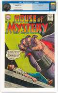 Silver Age (1956-1969):Science Fiction, House of Mystery #140 Pacific Coast Pedigree (DC, 1964) CGC NM/MT 9.8 Off-white to white pages....