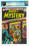 Silver Age (1956-1969):Horror, House of Mystery #155 Pacific Coast Pedigree (DC, 1965) CGC NM+ 9.6 Off-white to white pages....