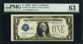 Small Size:Silver Certificates, Fancy Serial Number 66666618 Fr. 1601 $1 1928A Silver Cert...