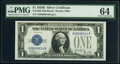 Small Size:Silver Certificates, Fr. 1602 $1 1928B Silver Certificate. PMG Choice Uncircula...