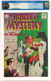 House of Mystery #142 Pacific Coast Pedigree (DC, 1964) CGC NM+ 9.6 White pages