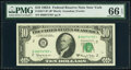 Small Size:Federal Reserve Notes, Fr. 2017-B* $10 1963A Federal Reserve Star Note. PMG Gem Uncirculated 66 EPQ.. ...