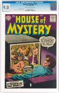Silver Age (1956-1969):Horror, House of Mystery #75 (DC, 1958) CGC VF/NM 9.0 Cream to off-white pages....