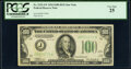 Small Size:Federal Reserve Notes, Fr. 2152-J* $100 1934 Dark Green Seal Federal Reserve Star...
