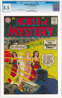 House of Mystery #76 (DC, 1958) CGC VF+ 8.5 Cream to off-white pages