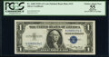 Small Size:Silver Certificates, Fr. 1608 $1 1935A Silver Certificate. K-C Block with Late ...