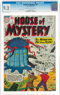 House of Mystery #87 (DC, 1959) CGC NM- 9.2 Cream to off-white pages