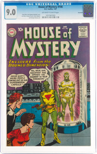 House of Mystery #106 Savannah Pedigree (DC, 1961) CGC VF/NM 9.0 Off-white to white pages