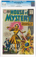 Silver Age (1956-1969):Horror, House of Mystery #115 Savannah Pedigree (DC, 1961) CGC NM 9.4 Off-white pages....