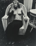 Photographs, Judy Dater (American, 1941). Maggie Wells, 1970. Gelatin silver print. 12-1/2 x 9-3/4 inches (31.8 x 24.8 cm). Signed in...
