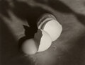 Photographs, Janet Russek (American, 1947). One Egg Flowing (from Eggs VII), 1998. Gelatin silver print. 6-1/8 x 7-7/8 inches (15.6 x...