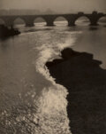 Photographs, Blanc and Demilly (French, 20th Century). Le lit du fleuve (Riverbed), circa 1940s. Gelatin silver print. 11-3/4 x 9-1/2...