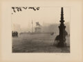 Photographs, Blanc and Demilly (French, 20th Century). Equestrian Statue of Louis XIV in Park in Lyon, France, circa 1930s. Gelatin s...