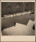 Photographs, Blanc and Demilly (French, 20th Century). Cathédrale St Jean, Lyon, France, circa 1940s. Gelatin silver print, printed l...