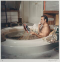 Photographs, Terry O'Neill (British, 1938-2019). Sean Connery as James Bond in the Bath (on the set of Diamonds Are Forever), 1971. D...