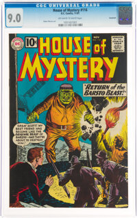 House of Mystery #116 Savannah Pedigree (DC, 1961) CGC VF/NM 9.0 Off-white to white pages