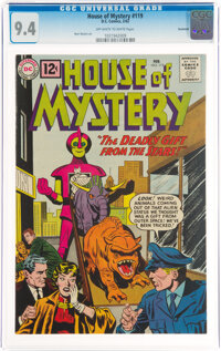 House of Mystery #119 Savannah Pedigree (DC, 1962) CGC NM 9.4 Off-white to white pages