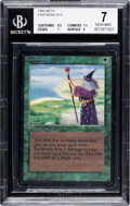 Memorabilia:Trading Cards, Magic: The Gathering Fastbond Beta Edition (Wizards of the Coast, 1993) BGS NEAR MINT 7....