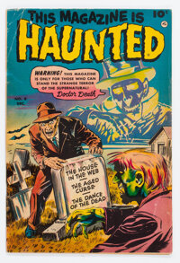 This Magazine Is Haunted #8 (Fawcett Publications, 1952) Condition: VG/FN