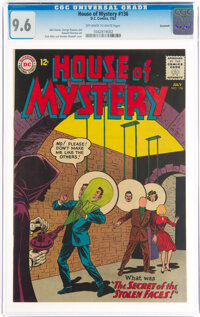 House of Mystery #136 Savannah Pedigree (DC, 1963) CGC NM+ 9.6 Off-white to white pages